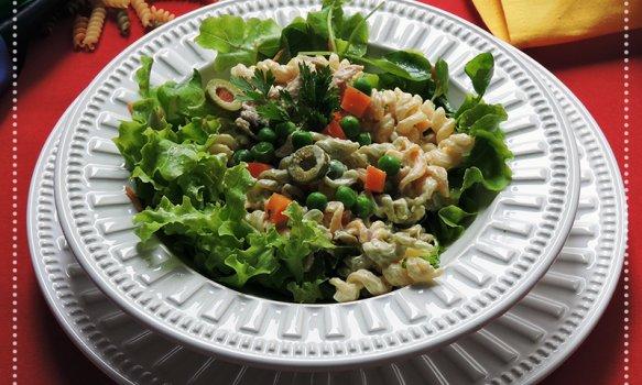 Salada de Atum Rapidinha