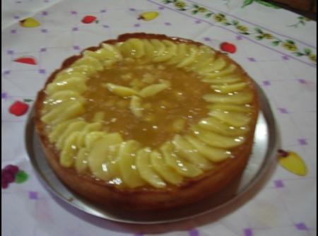 Torta de Maçã c/ creme