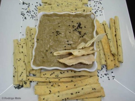 Pasta de Berinjela | Aline Fonseca