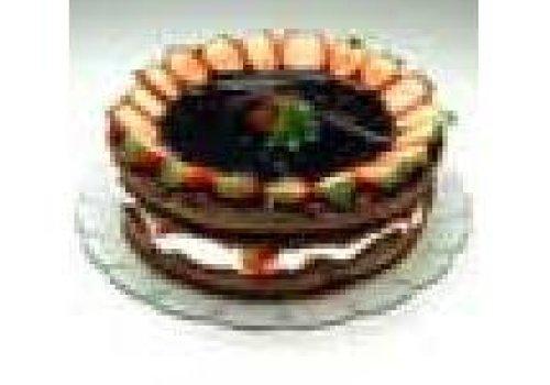 torta suiça de morango