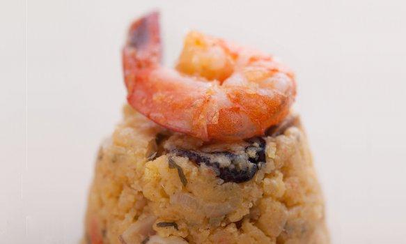 Cuscuz de Frutos do Mar