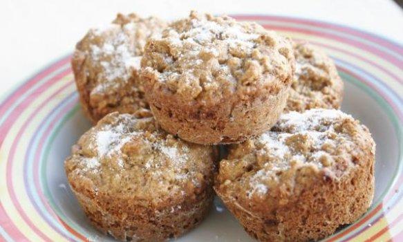 Muffin Integral de Baunilha