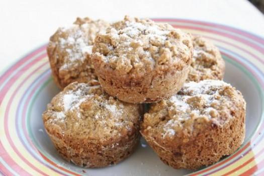 Muffin Integral de Baunilha | Andressa Fátima Domingos de Camargo