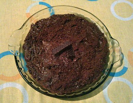 Torta Biss com Achocolatado em Pó