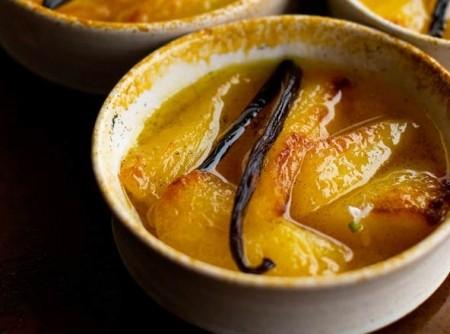 Peras douradas com mel | otto loureiro lima