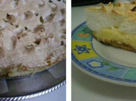 Torta de Limão Diferente | CyberCook