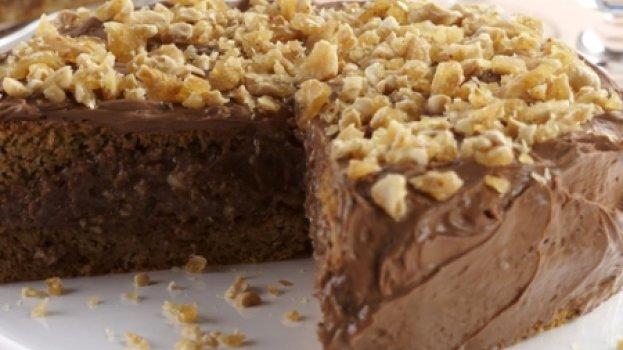 Bolo de Amendoim, Café e Chocolate