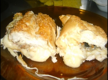 Pão recheado para churrasco | Ana Beatriz Siqueira Triano