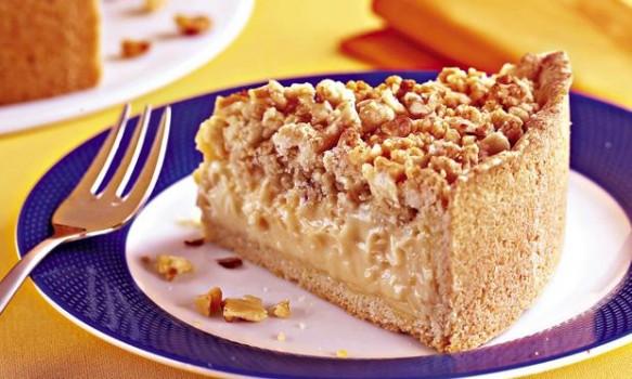Torta de Farofa Crocante | Paula Trinkel