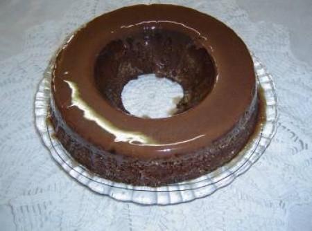 Bolo de Chocolate de Microondas   JANE C