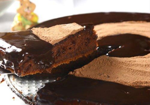 Bolo de Chocolate e Laranja
