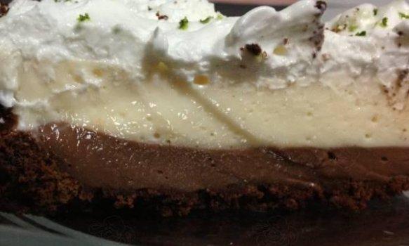 Torta de Chocolate e Limão