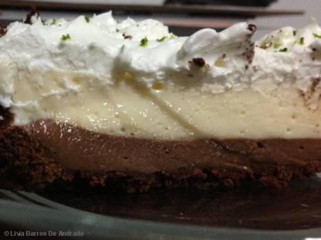 Torta de Chocolate e Limão   Abençoada Jesus