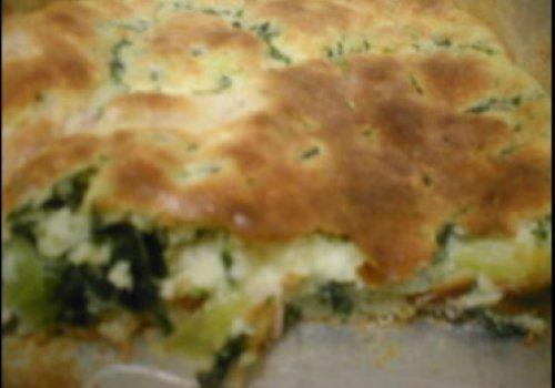Torta Facilima de Espinafre