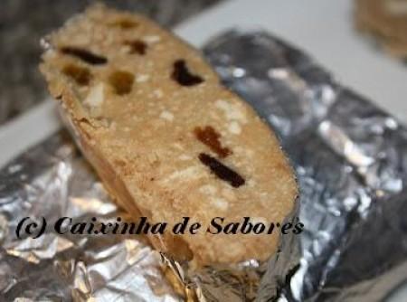Salame de chocolate branco