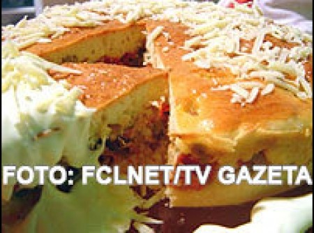 torta cremosa de carne assada     | Sandra Helena C. Medeiros
