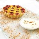 Tortinha de Goiabada com calda de Queijo