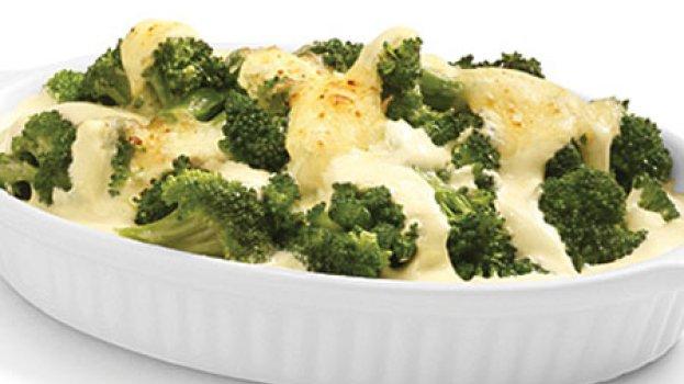 Brócolis com Molho de Philadelphia