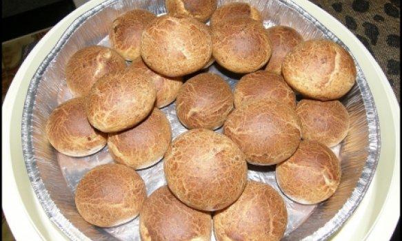 Pao de Quejo da Rai com farinha de trigo