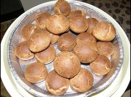 Pao de Quejo da Rai com farinha de trigo | Lane Pordeus