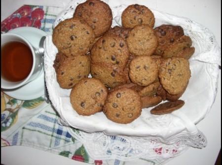 Cookies de Aveia com Gotas de Chocolate | francisco roberto meissner