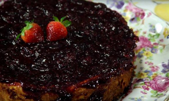 New York Cheesecake de Frutas Vermelhas