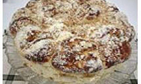 Cuca de amendoim light (sem açúcar)