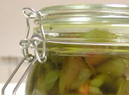 Conservas de pimentos assados