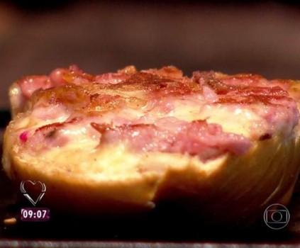 Pão de Alho com Linguiça   Maria Barbosa