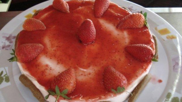 Torta Holandesa de Morango
