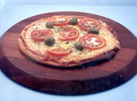 Pizza de Presunto e Mussarela | CyberCook