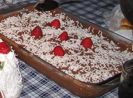 Pavê de Chocolate Prático