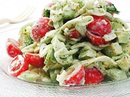 Salada de Abacate   CyberCook