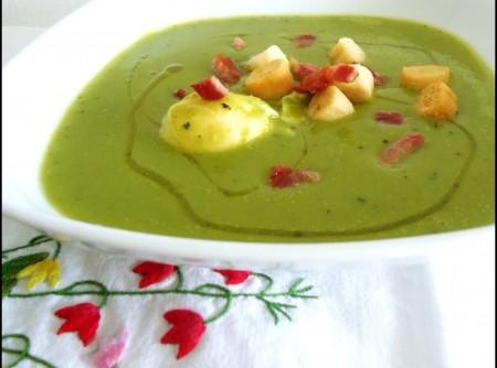 Creme de Ervilhas Vegetariano | selma nakakubo