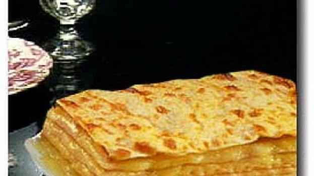 Lasanha aos 4 queijos
