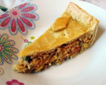 Torta de Bacalhau com Massa Podre