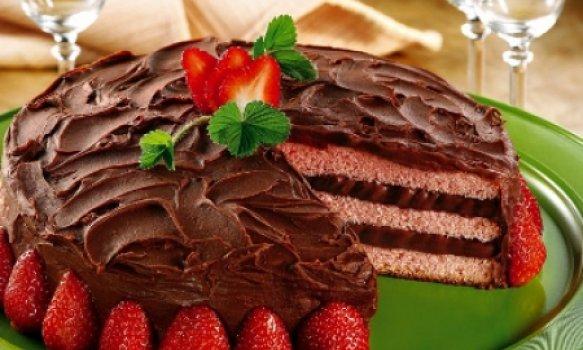 Falsa Torta de Morango