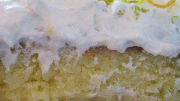 Torta de Laranja com Recheio de Coco
