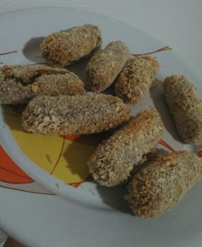 Croquete de Proteína de Soja com Batata Doce | Mila Uwho