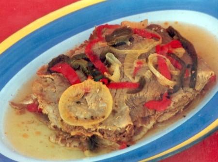 Carne Louca com Pimentão