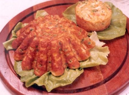 Torta de Legumes com Alfafa