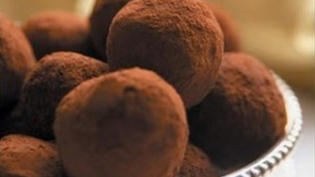 Trufas de Chocolate Simples