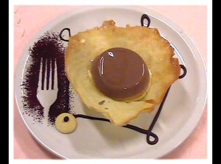 Bavarese ai due cioccolati