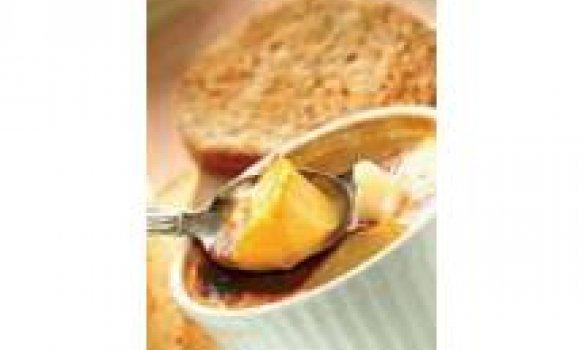 Pudim de pão com gosto de Leite condensado