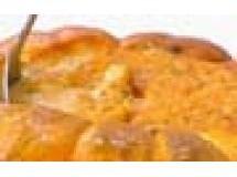 Camarão na Moranga com Leite de Coco e Cream Cheese