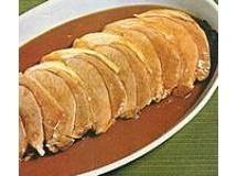 Lombo de Porco ao Molho Madeira