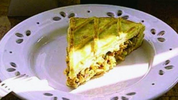 Torta de Frango com Massa de Empadão