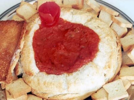 Sardela no Pão Italiano