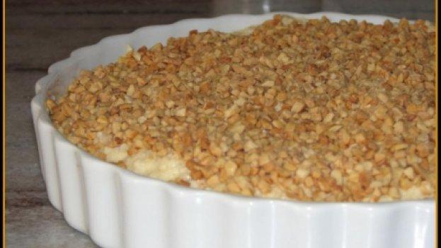 Bolo de Amendoim com Queijo