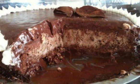 Bolo Sorvete de Chocolate
